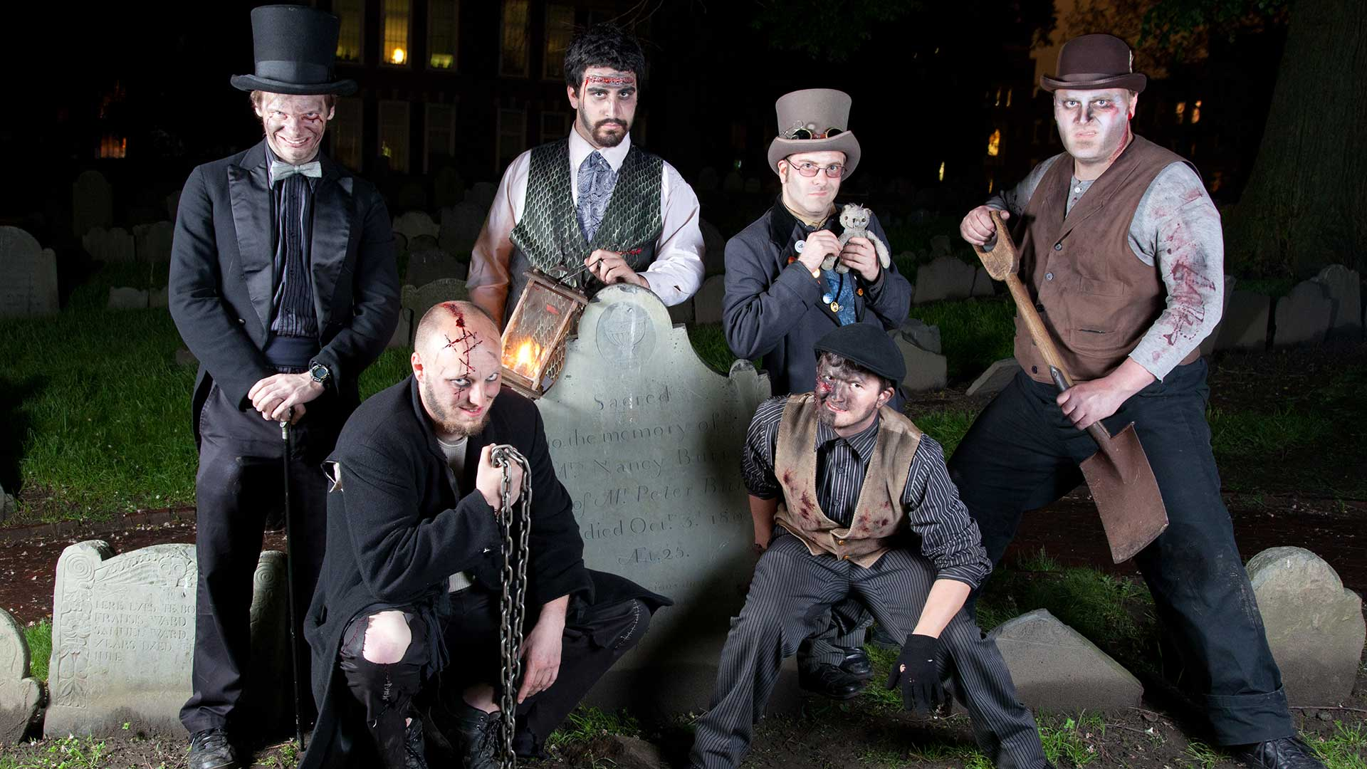 Boston's Ghosts & Gravestones Cast