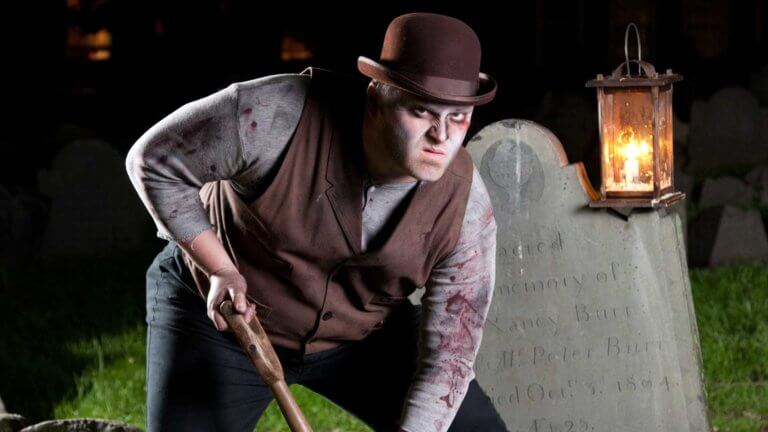 boston ghost tour grave digger