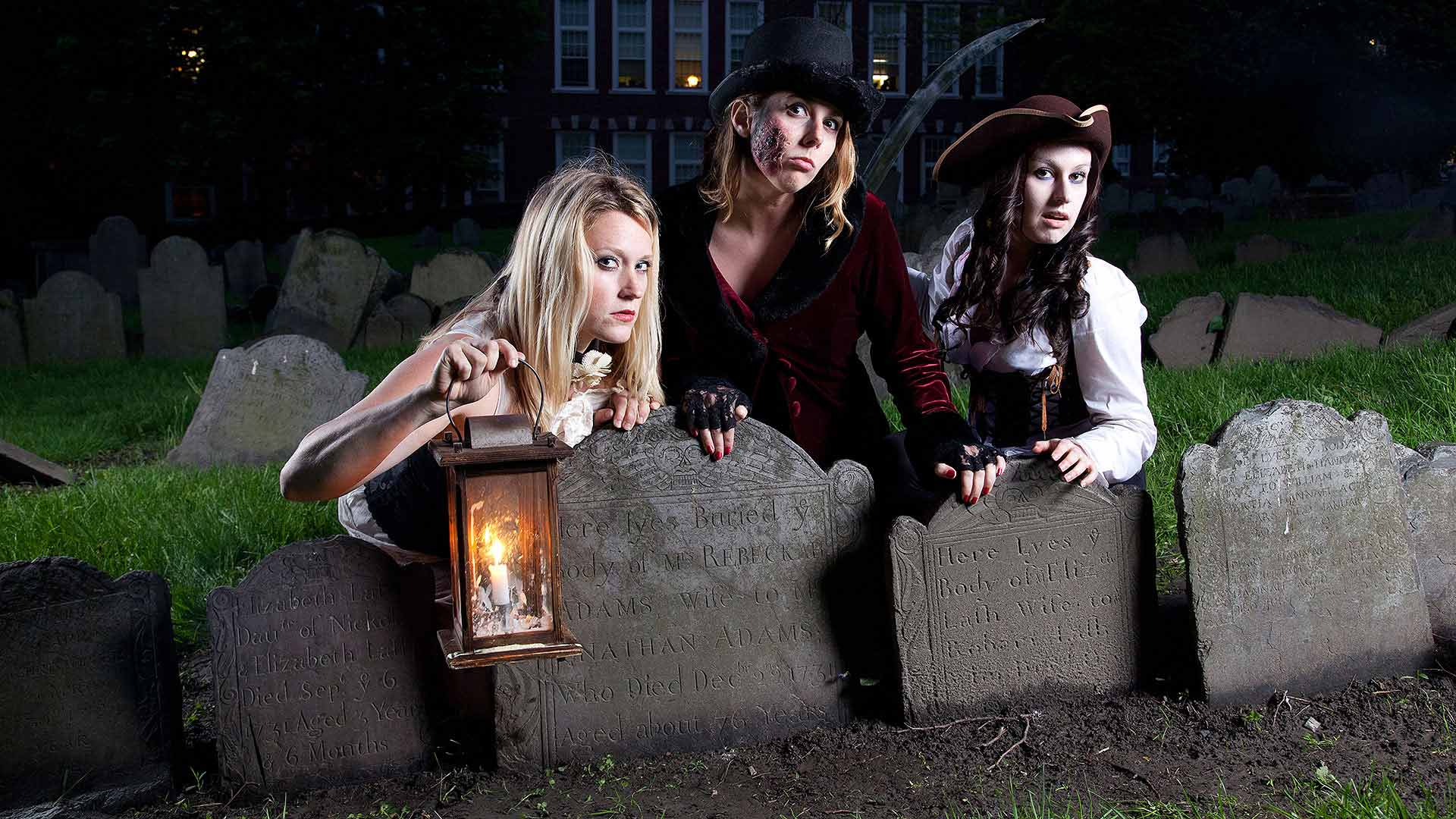 women cast of boston haunted ghost tours