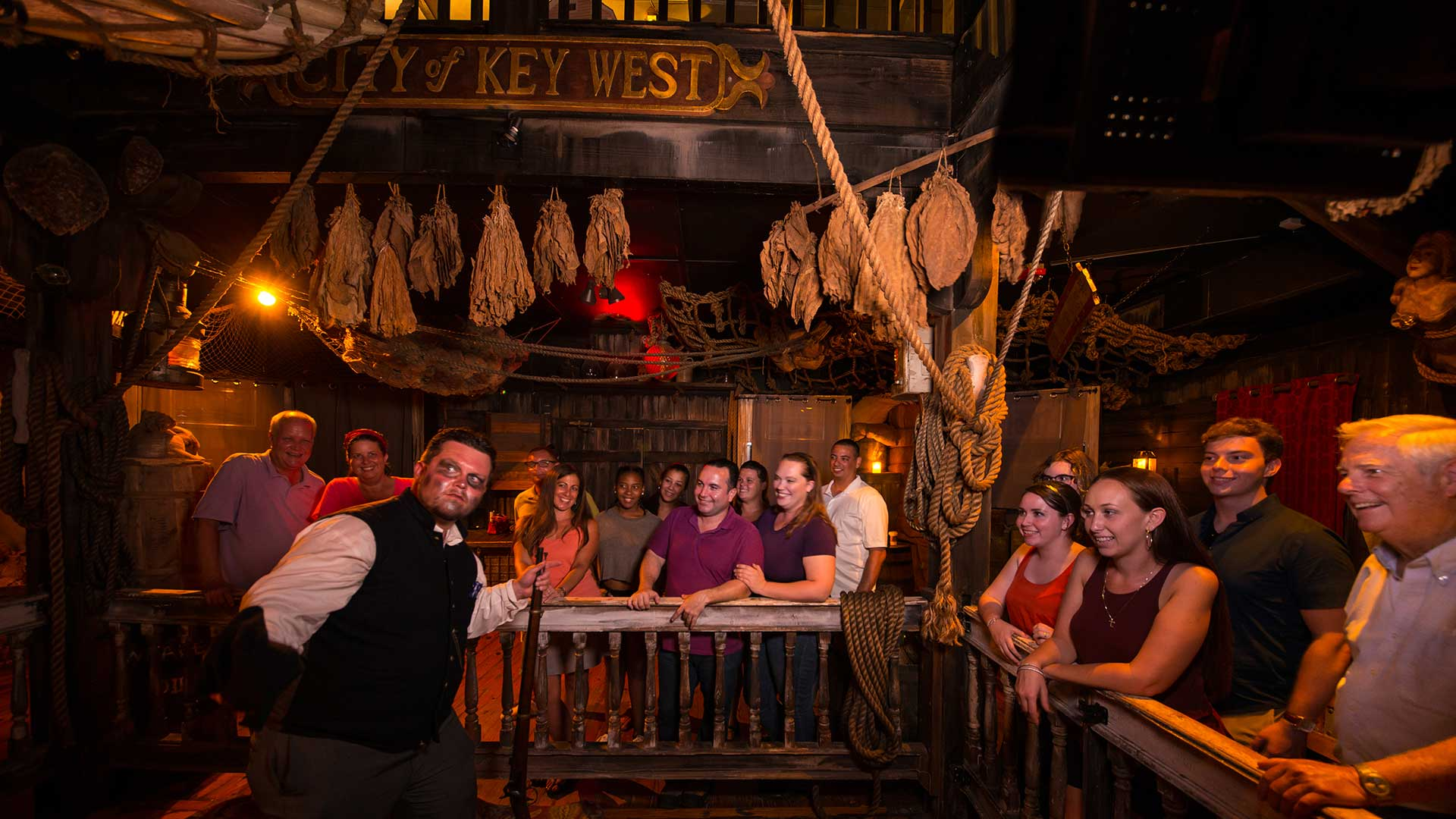 key west haunted tour in shipwreck museum