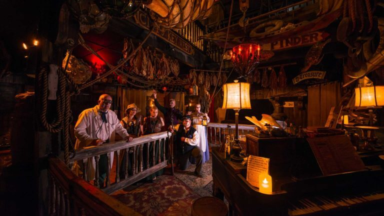 key west shipwreck museum interior and haunted tour guides