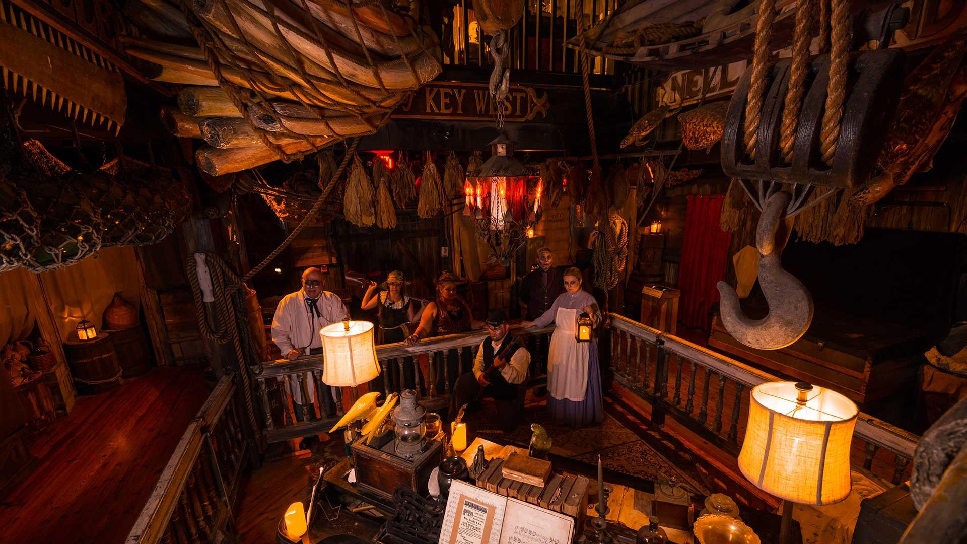 key west shipwreck museum interior