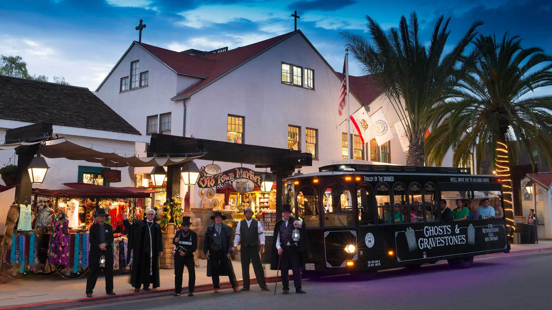 Haunted Ghost Tour in San Diego