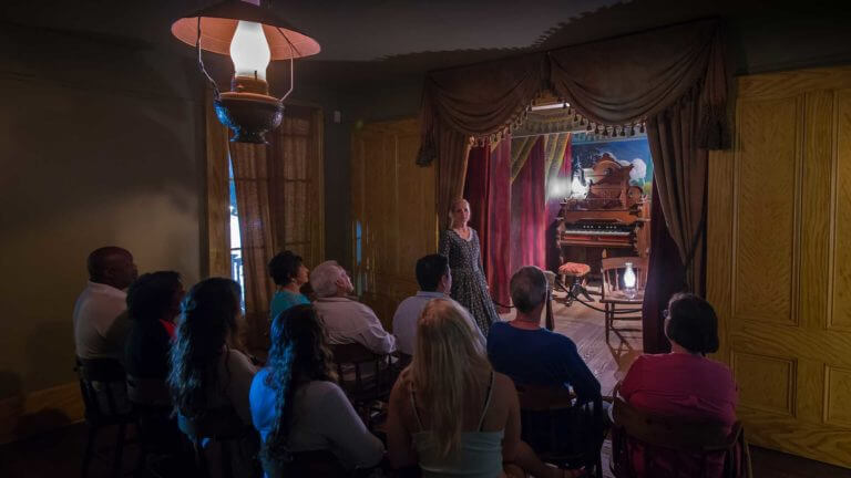 haunted tour at san diego whaley house