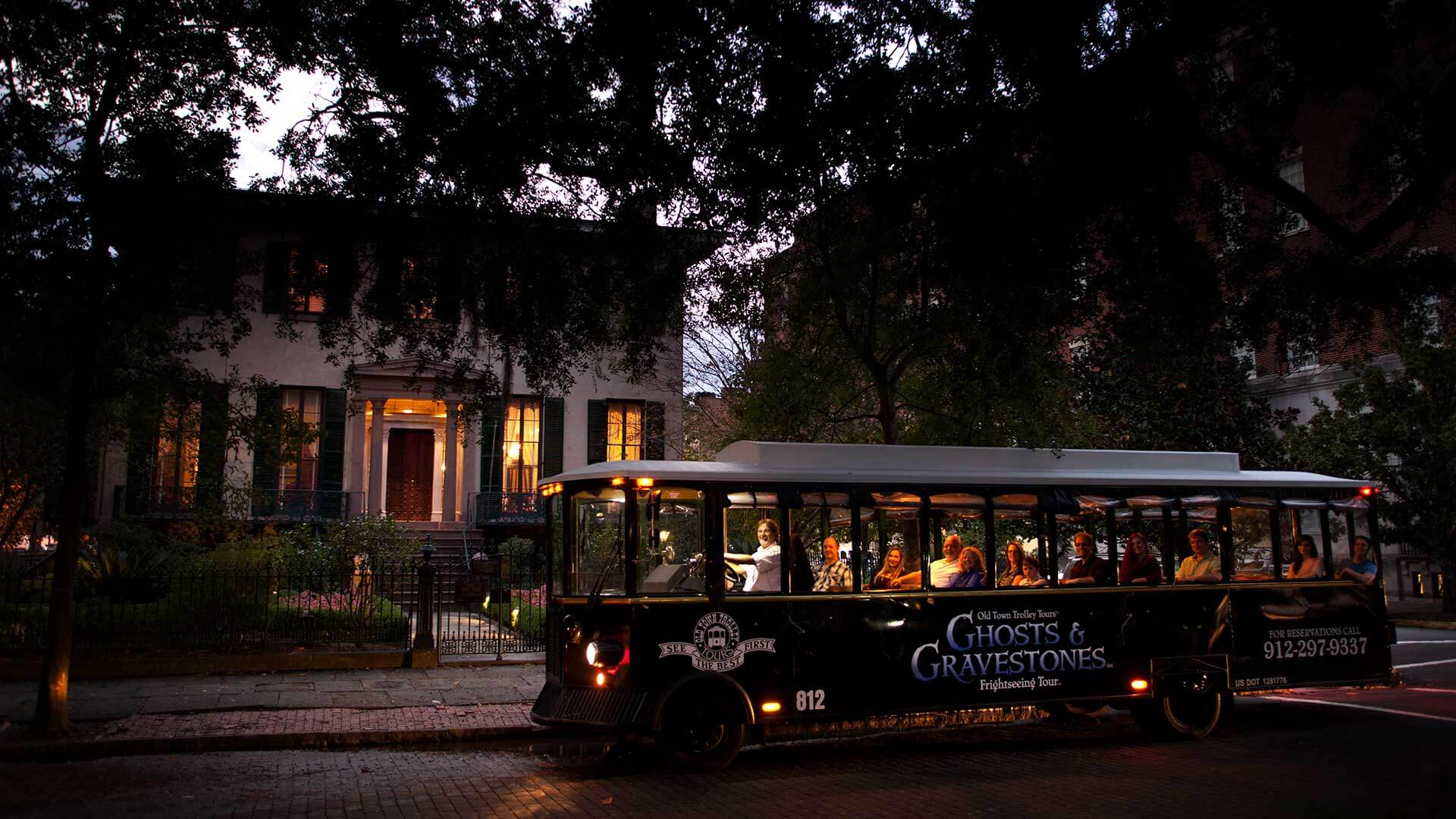 savannah ghost tour driving