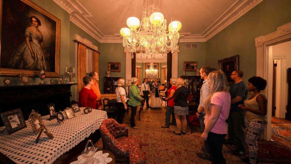 juliette gordon low house haunted tour