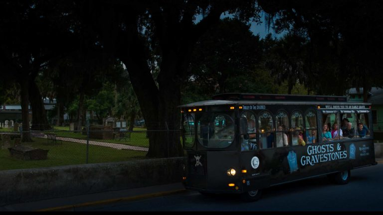 st augustine haunted tour trolley