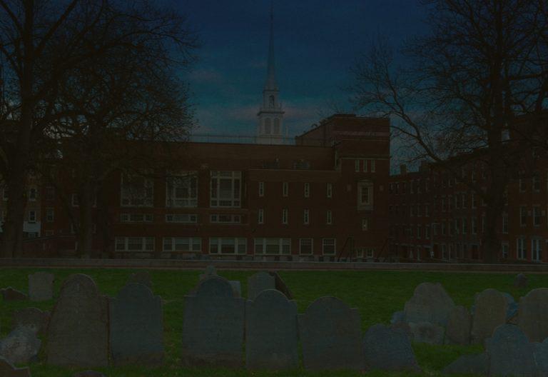 copps hill burying ground dark graves