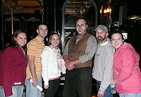 boston ghost tour guests and tour guide