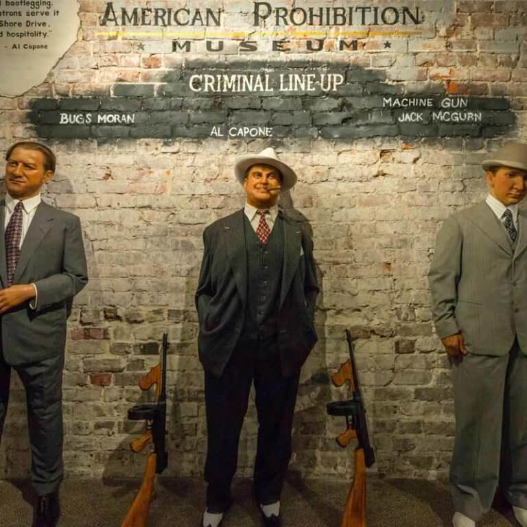 american prohibition museum gangsters wax figures