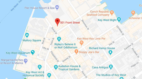 key west ghosts and gravestones map