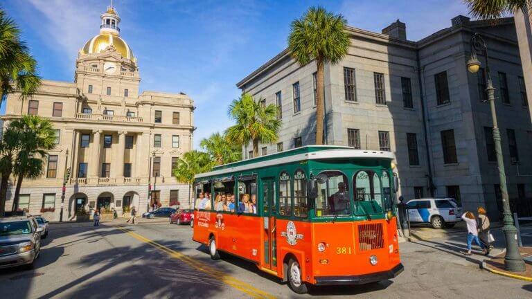 old town trolley tours savannah