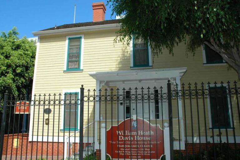 San Diego William Heath Davis House