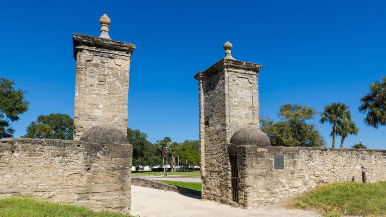 st augustine city gates