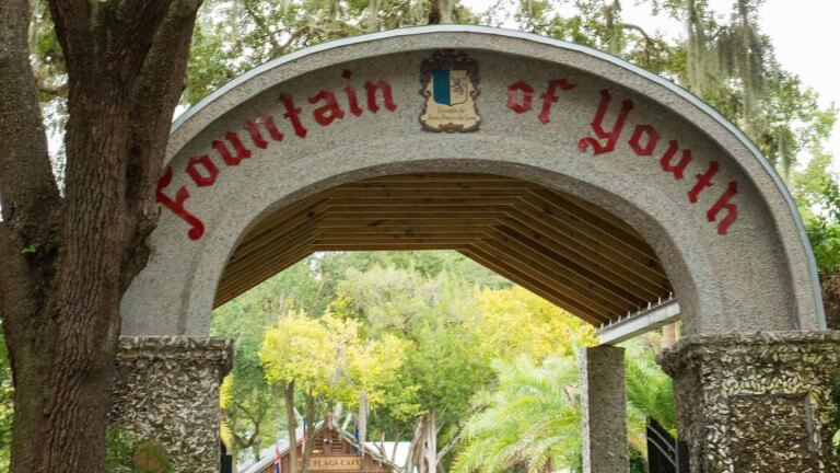 st augustine fountain of youth