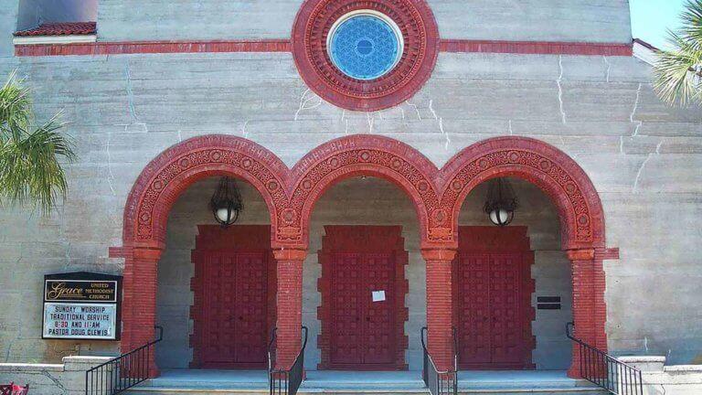 st augustine grace church entrance