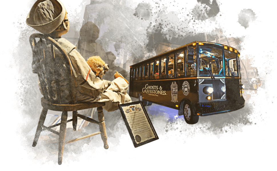 Key West Ghost Tour Trolley and Robert the Doll