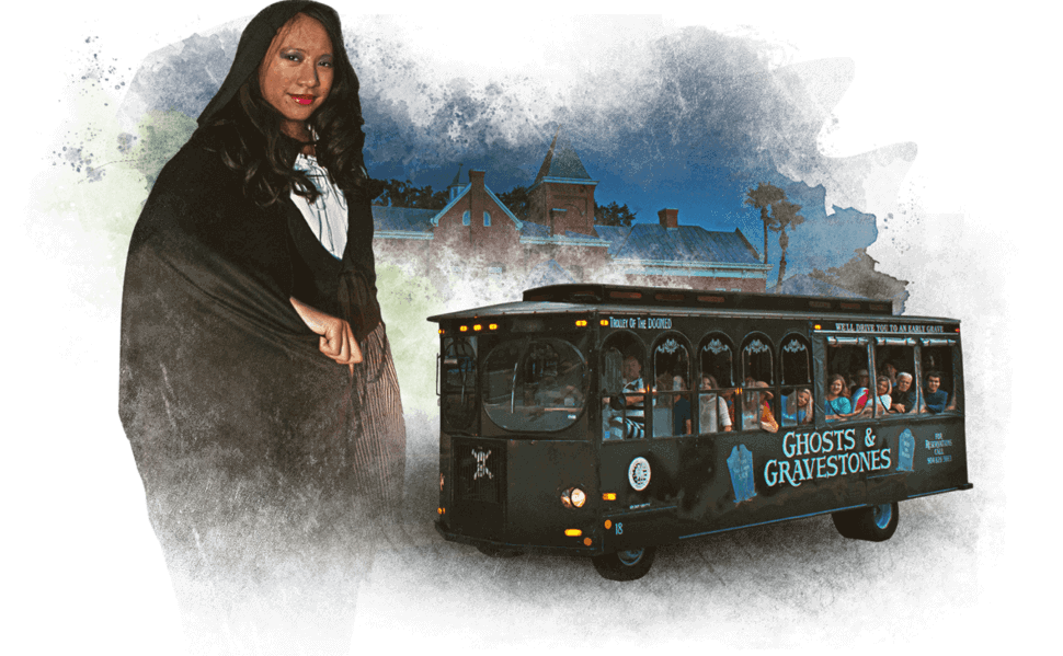 St. Augustine Ghost Tour Guide and Trolley