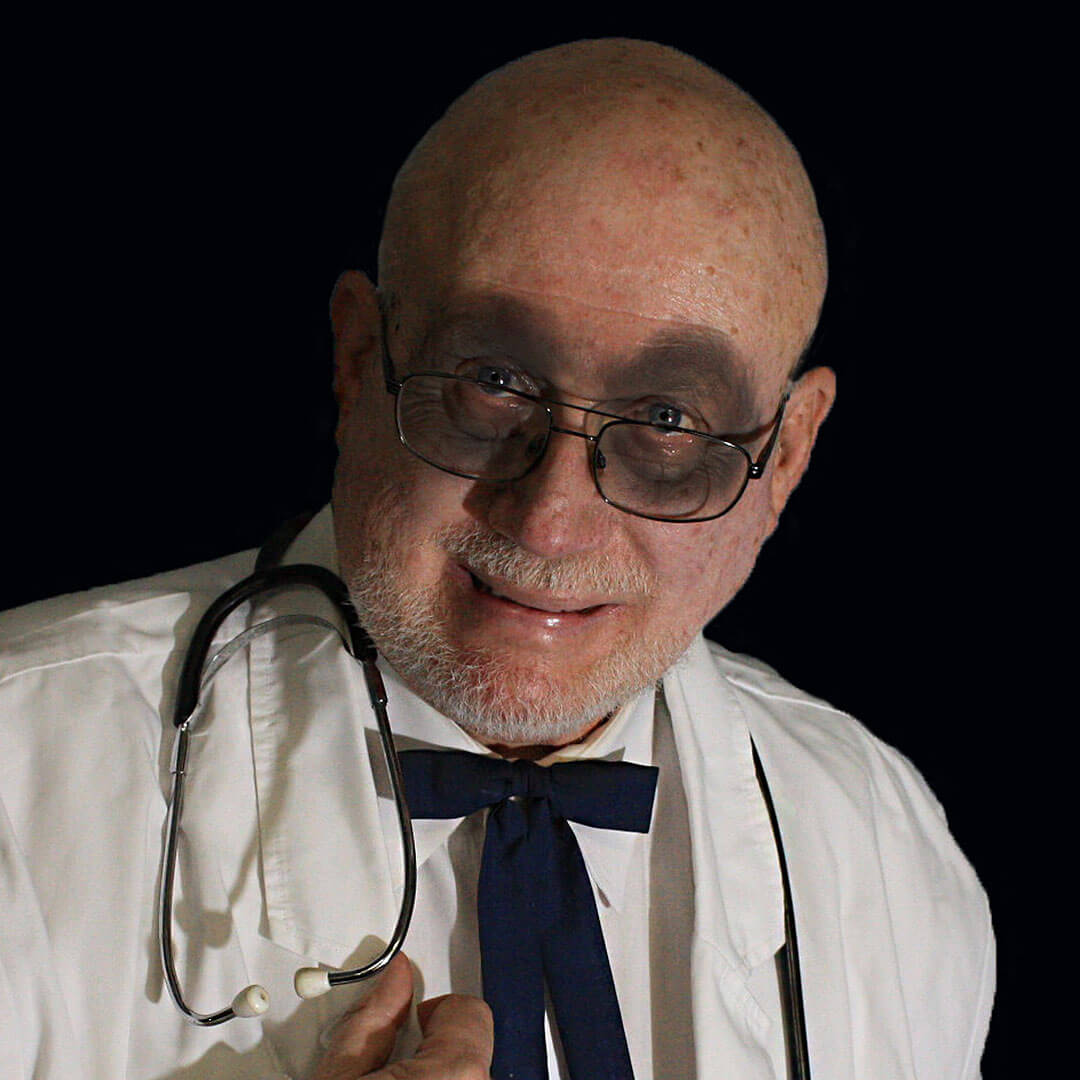 picture of key west ghost host dr dexter reed