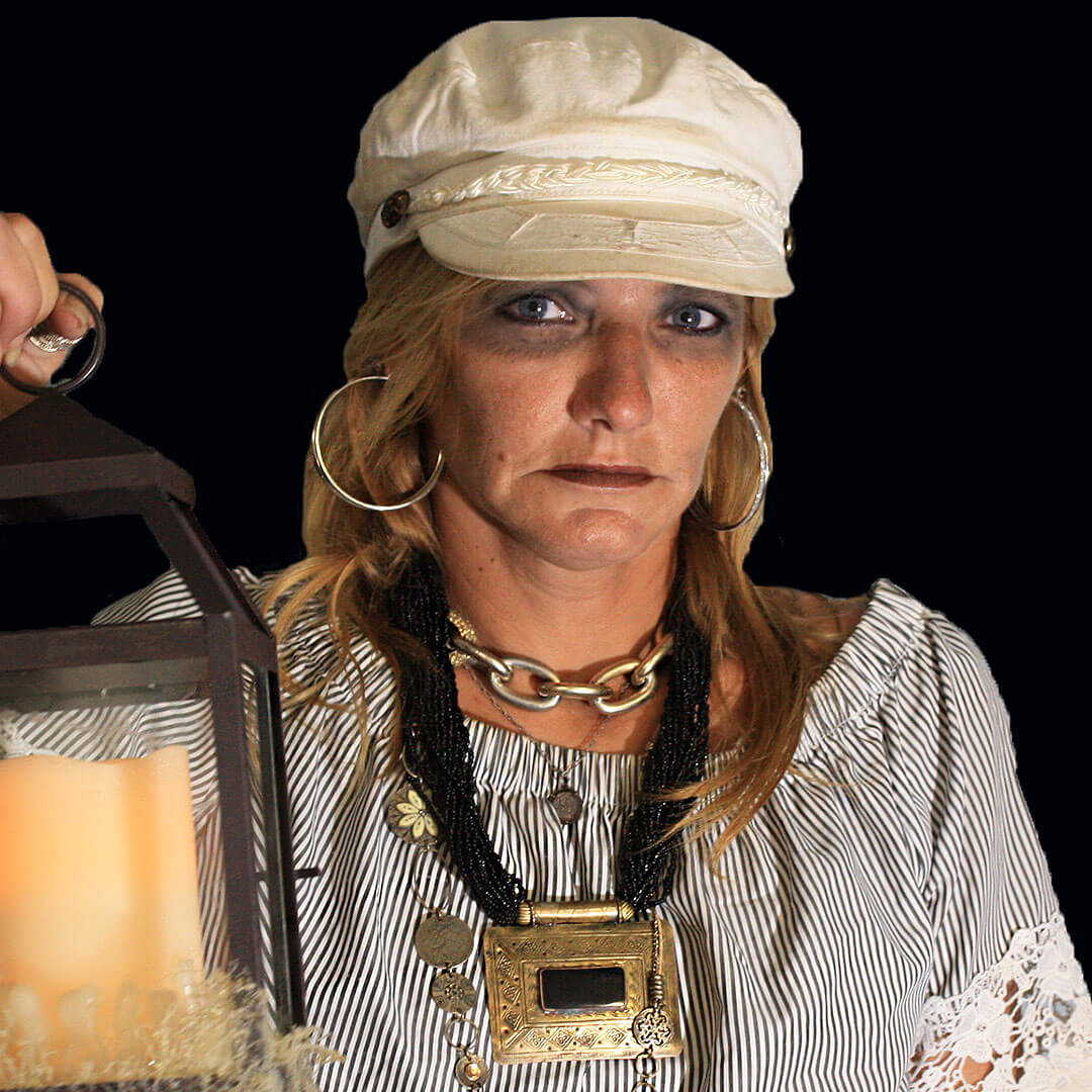 picture of key west ghost host lila james