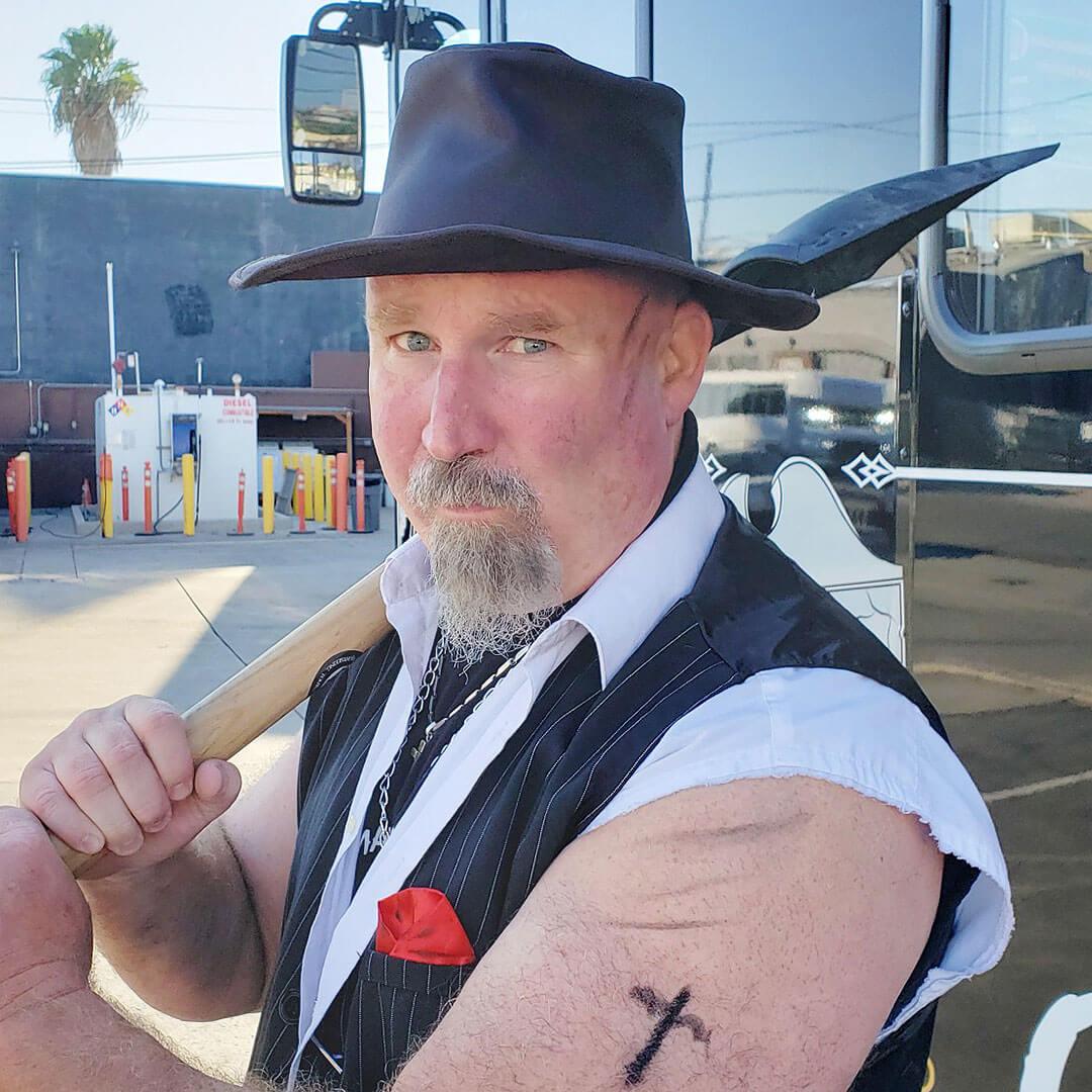 San Diego Ghost Host Gravedigger Dave
