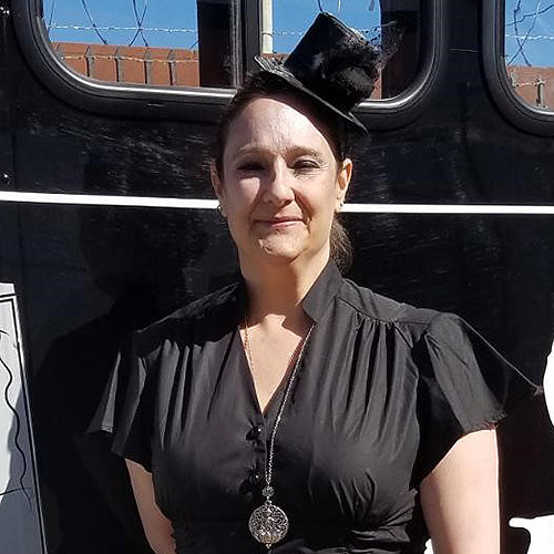 San Diego ghost host Irene Amy Strong