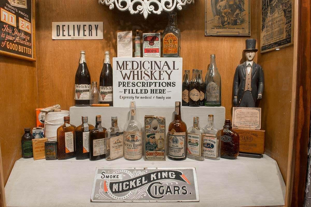 Savannah American Prohibition Museum display